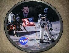 JFK Apollo II Bradford Exchange The Eagle Has Landed 25th Anniversary Plate 1993