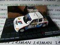 RIT23E voiture 1/43 IXO Altaya Rallye PEUGEOT 205 T16 E1 Vatanen 1984 1000 lacs
