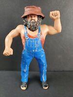 Vintage 1984 WWF LJN Wrestling Superstars Hillbilly Jim Figure w/Hat WWE