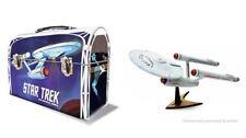 Polar Lights Star Trek Enterprise Ncc1701 1/1000 snap model kit w/lunchbox #0889
