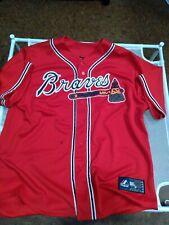 Justin Upton #8 Atlanta Braves RED Replica jersey - Majestic Size XL