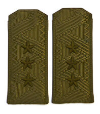 USSR Soviet Shoulder boards epaulets, Colonel General Army Field, Rare (2718)