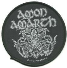 AMON AMARTH odin 2012 - circular WOVEN SEW ON PATCH official merchandise
