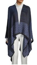 NWT Authentic Missoni Women's Multicolor Chevron Knitted Wool Blend Cape 1 Size