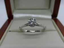 Exceptional Brilliant Cut Diamond Engagement Ring Platinum Size K VS1