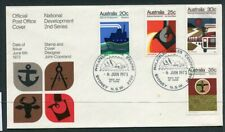 Australian First Day Cover. 1973 national development