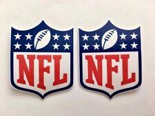 2x NFL The National Football League Car Bumper Laptop Vinyl Stickers Decals
