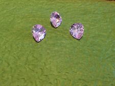 PINK 4 Carat Russian  Sim Diamond PEAR CUT (10 x 12 mm) (1 pc)