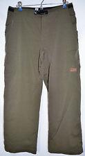 prAna Breathe Cargo Pants Olive Green Roll-Up Men's Small