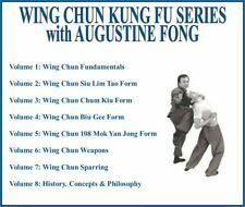 Wing Chun Kung Fu Instructional Series (8) Dvd Set siu lim tao chum kiu bee gee