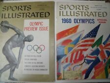 1956 and 1960 Olympic Issues - Sports Illustrated