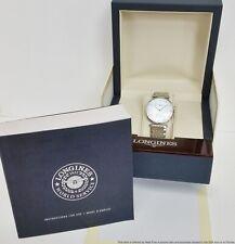 Brand New La Grande Classique de Longines Wristwatch MoP Diamonds w Box Papers