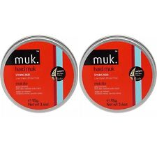 2 X MUK HARD MUK 95g Brutal Hold Low Sheen Genuine /SAME DAY POST -Aus Store