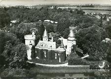 Carte CONDE SUR ITON Vue aérienne Le château