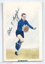 1951 Kornies Footballers In Action (No. 48) A. HODGSON Carlton