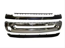Bundle for 03-05 Dodge Ram 1500 25 3500 Front Bumper Chrome Up Lower Step Pad 4P