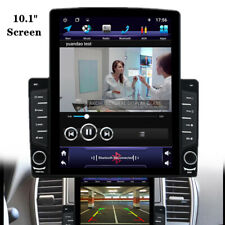 "Car 1DIN Rotatable 10.1"" Screen Android 8.1 HD MP5 Player Stereo Radio GPS Nav"