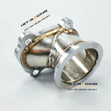 """For turbo housings T25 T28 GT25 GT28 To 2.5""""63mm V-Band Flange Down Pipe Adpater"""