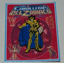 SAINT SEIYA METAL PIN FIGURE COLLECTIBLE ITEM TOY ARGENTINA # 1