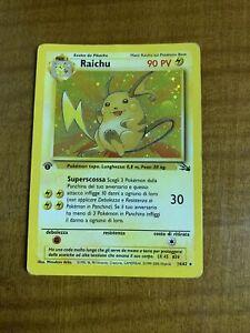 raichu set base prima edizione