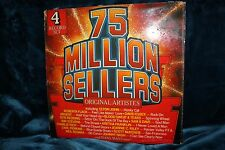 "Various ""75 Million Sellers by Original Artists""  - 4 Records  L.P's"