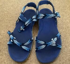 Regatta Ladies Santa Monica Sandals - Blue - Size 6.5 / 40