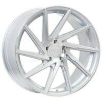 20x8.5 F1R F29 5x114.3 35 Machine Silver Wheels Rims Set(4)