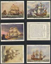 More details for full set, players, old naval prints (l) 1936