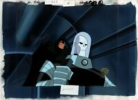 Batman The Animated Series Production Cel MASTER SETUP w/back Warner Brother 665