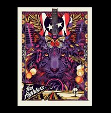 Foo Fighters 2017 Nashville Show Poster Tour Print Mondo Tyler Stout Bridgestone