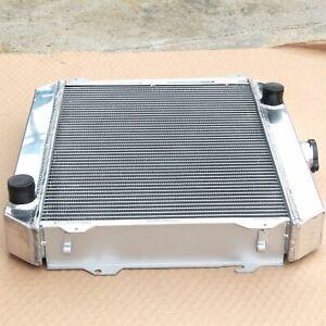 Aluminum Radiator For Nissan Datsun STANZA 510 610 710 720 L20B MT 3R 1974-1979