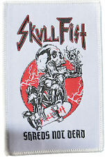 SKULL FIST - Shreds Not Dead - Patch - 12 cm x 8 cm - 163074