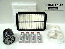 Kit de servicio para Toyota Celica 1.8 16V TS 192HP 99-06 Filtros de Aceite Cabina De Aire Spark