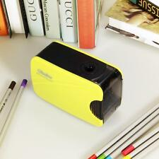 Automatic Electric Touch Switch Pencil Sharpener Home Office School Yellow