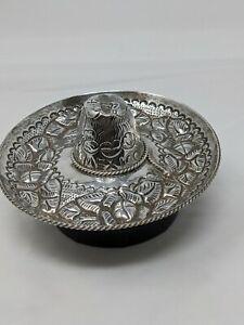Sterling Silver Mexican Sombrero