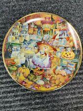 "Franklin Mint ""Scaredy Cats"" Bill Bell Cat Plate Free Ship"