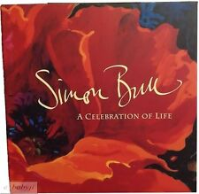 SIMON BULL-CELEBRATION OF LIFE (SIGNED 2x) Hardcover-Scarce First ed Art Photo