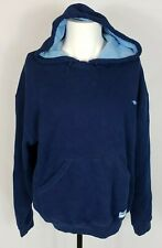 Men's Navy Athletic Works Sweatshirt Hoodie Pullover Size L EUC