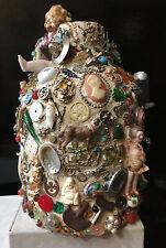 Memory Jug - As A Contempory Folk  Art Form