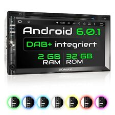 Android 6.0.1 Navi 7 Zoll Touchscreen Monitor Bluetooth DAB DVD CD SD USB