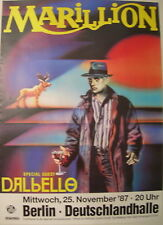 MARILLION CONCERT TOUR POSTER 1987 CLUTCHING AT STRAWS