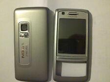 Cover frontale e cover batteria silver Nokia 6280 6288 originale nuovo ricambio