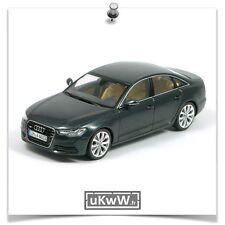 Schuco 1/43 - Audi A6 2011 bleu foncé métallisé