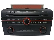 06 07 Mazda 3 Radio Stereo Sat CD Disc Player BR9E 66 AR0 Multi Function Audio