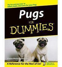 Pugs for Dummies (For Dummies (Lifestyles Paperback)), Acceptable, Elaine Waldor