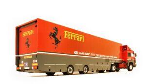 Ferrari 1988 Transporter Semitrailer 1:18 scale for Iveco Turbostar Road King