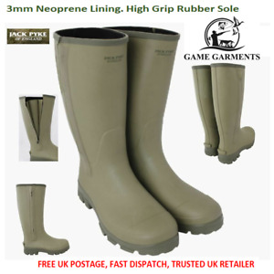 Wellies Jack Pyke Zip Wellington Ashcombe Zipped £75 - add a boot bag at £19.95?