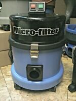 Numatic Henry MFQ 370 Micro Filter Blue Commercial Bagged Vacuum Cleaner