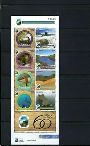 PARK NATURAL   60th Anniv. >> OF COLOMBIA.-  S/SHEET  1960- 2020