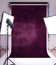 Vinyl Photo Backdrops Purple Wall Photography Background Studio Props 5x7ft